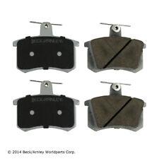 Disc Brake Pad Set Rear Beck/Arnley 085-1189