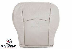 2004-2005 Cadillac SRX -Driver Side Bottom Replacement Leather Seat Cover Tan