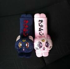 sailor moon pink blue safety seat belt Shoulder sleeve cover decoration anime