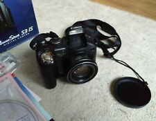 Used Canon PowerShot S3 IS 6.0MP Digital Camera in great condition