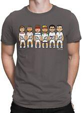 Vipwees T-Shirt Tennis Legenden Herren Karikatur Unisex Damen Räumungsverkauf Geschenk