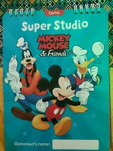 Unused But Opened Play Osmo Mickey Mouse & Friends Drawing Studio W/O Box