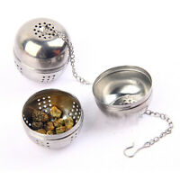Stainless Steel Ball Tea Strainer Infuser Mesh Filter Loose Leaf Spice Tea Tools
