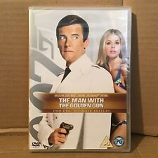 The Man With The Golden Gun (2x DVD Ultimate Edition) BRAND NEW FACTORY SEALED