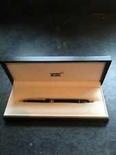 Mont Blanc Meisterstuck Fountain Pen with Blue & Black Ink