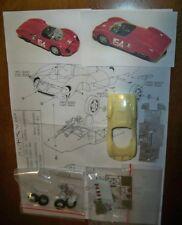 Maserati Ty.64 SERENISSIMA Targa Florio'62 #154 1/43 Kit montaggio SHMR vintage