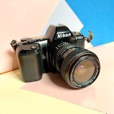 Nikon F-601m 35mm SLR Camera W/ 28-70mm 1:3.5-4.5 Tokina Lens Working Tested