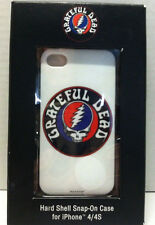 Audiology Grateful Dead White Hard-Shell Snap-On Case for iPhone 4/4S *RARE*