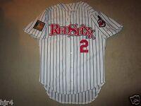 Columbus RedStixx 1994 Minor League Cleveland Indians MLB Game Worn Jersey