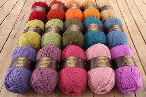 15 x 100g Stylecraft Special D/K Wool/Yarn Knitting/Crochet Cosy Attic 24 Pack