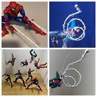 Marvel Legends Spider man Set of 4 Custom Web Figures not included!