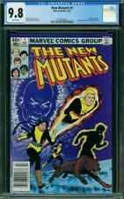 New Mutants #1 CGC 9.8 Marvel 1983 Key Bronze! Newsstand! X-Men! WP! L6 222 cm