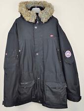 GEOGRAPHICAL NORWAY Atlas 1 Men's Black Warm Coat XL Jacket Winter Parka Top