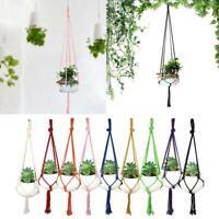 Garden  Plant Basket Hanger Rope Net for Flower Pot Holder Hanging Planter Decor