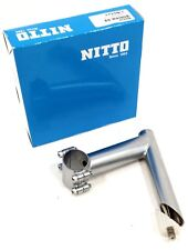 Nitto Ui-12 Bicycle Quill Stem, 31.8, 71d x 110mm, Silver