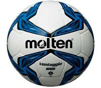 Molten F5V1700 Hand Stitched Match & Training PVC Leather Blue Football