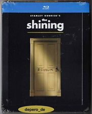 """THE SHINING"" - Stanley Kubrick Horror Cult Classic - BLU RAY STEELBOOK Embossed"