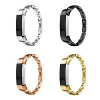 Metal Stainless Crystal Replacement Accessories Wrist Band for Fitbit Alta