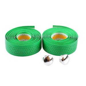Handlebar Tape Green Soft Perforated Velox for Bike Of Hanger #1450 Z21