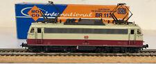 ROCO 4138 LOCOMOTIVA ELETTRICA E-Lok BR 112 DB H0