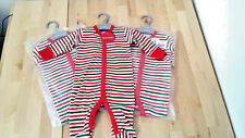 Bundle of 3 baby grows sleeper suits new born