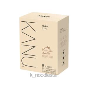 [Maxim]KANU Vanilla Latte Rich Neat Coffee Korean Original Beverage 17.3 g × 8 T