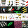 Fishing Lures Crankbaits Hooks Minnow Shrimp Vivid Frog Fish Baits Tackle Tool