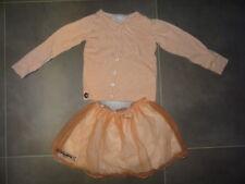 Ensemble habillé gilet à boutons + jupe saumon DISNEY ORIGINAL Taille 3 - 4 ans