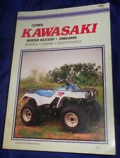 1988-2002 Kawasaki KLF220 Repair Manual Clymer M465-3 Service Shop Garage