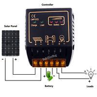 10A 12V/24V PV Solar Panel Charge Controller Battery Regulator Safe Protection