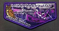 OA MIKANAKAWA LODGE 101 CIRCLE TEN COUNCIL TX BSA PATCH 2017 JAMBOREE STAFF FLAP