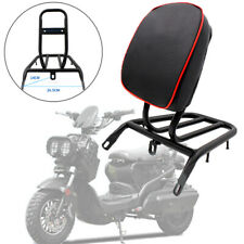 Motorcycle Refitted Backrest Rear Shelf Luggage Passenger Rack with Leather Pad