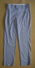 NIKE Road Gray Athletic BASEBALL PANTS Bottoms Size Men's LARGE New With Tag NWT