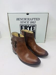 Frye Women's Molly D Ring Brown Ankle Boot size 9 B Original $380