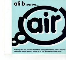 (FX66) Ali B Presents Air, 18 tracks various artists - 2006 DJ CD