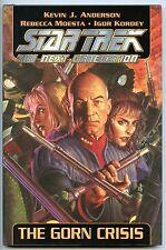 Star Trek TNG, The Gorn Crisis. Hardback