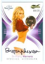 "Brittany Herrera ""Hottie Autograph Card /25"" Benchwarmer Signature Series 2015"