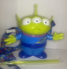New Disney parks Toy Story alien sipper Cup With Straw.