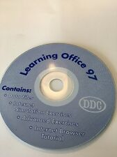 Learning Office 97Multimedia Computer Based Training on CD ROM-VERY RARE VINTAGE