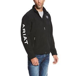 Ariat® Men's New Team Black Full-Zip Softshell Jacket 10019279
