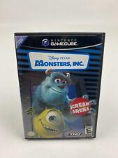 Monsters, Inc.: Scream Arena Nintendo GameCube  Complete TESTED