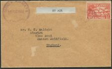 New Guinea - Aerophilately: 18 Aug.1930 (AAMC.P21) Wau - Rabaul. Guinea Airways