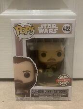 Star Wars Across The Galaxy: Qui Gon Jinn #422 Tatooine Funko Pop! Vinyl Figure