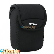 Neoprene Soft Camera Case Bag Cover For Canon IXUS 265HS 145 150 155 SX600 Black