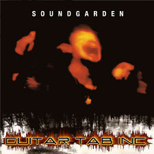Soundgarden Guitar Tab SUPERUNKNOWN Lesson on Disc Chris Cornell