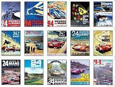 Le Mans F1 Grand Prix Affiches Jeu De Cartes À Collectionner uncut