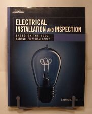 ELECTRICAL INSTALLATION AND INSPECTION by TROUT ~ 1st EDITION UNREAD PAPERBACK!