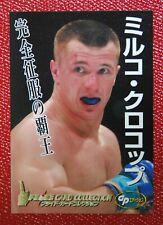 JAPAN PRIDE CARD GP EDITION Mirko CroCop UFCMMA