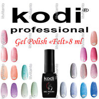 "Kodi Professional Gev LED/UV Nail Polish ""Felt"" 8 ml 0.27 Oz."