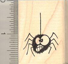 Goofy Halloween Spider rubber stamp C9716 WM